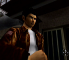 Ryo offering to help the old lady