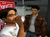 Wang drinking Coke
