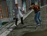 Shen Ryo runs past Pharmicist