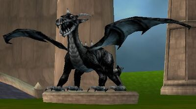 Dragon statue 3