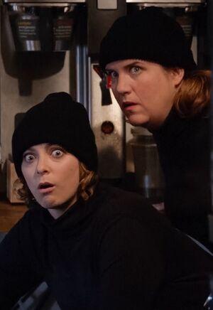 Season One Rebecca and Paula