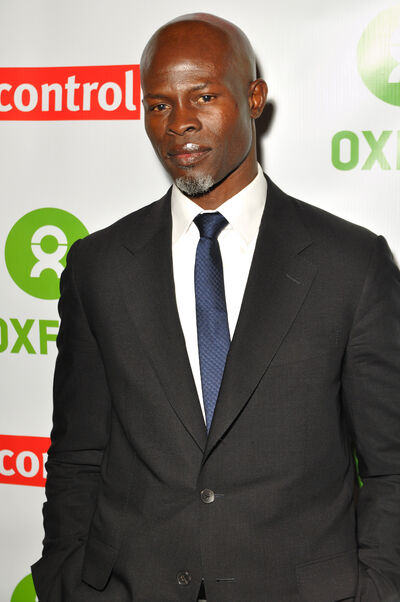 Djimon Hounsou at Final DipCon Opening Reception