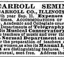 Belleville Telescope/1879-08-28/Mt Carroll Seminary
