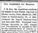 Iowa State Reporter/1893-09-14/Our Candidate for Senator