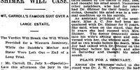 Rockford Register/1896-07-09/Breaks the Will