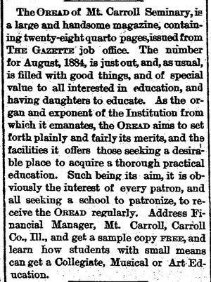 Rockford Gazette.1884-07-31.Untitled