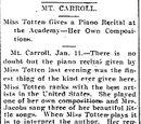 Register-Gazette/1898-01-13/Mt. Carroll