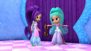 Shimmer and Shine Princess Samira and Zeta the Sorceress