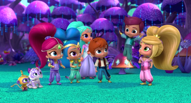 File:Main Characters of Shimmer and Shine Cast.png