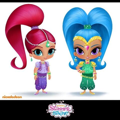 File:Shimmer and Shine Rough Character Designs 2013.jpg