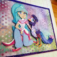 Princess Samira and Roya Production Art - Shimmer and Shine