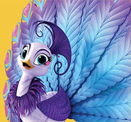 Roya the Peacock Shimmer and Shine