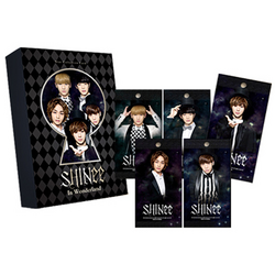 SHINee in wonderland collection card pack