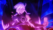 Azazel on his throne