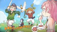 Ending Card- main characters