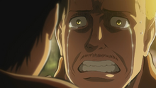 Hannes cries confessing his fear