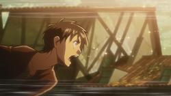 Eren cries