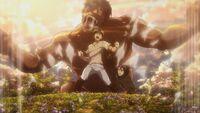 Eren unleashes the Coordinate