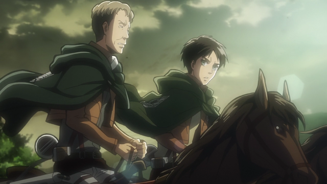 File:Oluo and Eren discuss the new recruits.png