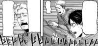 Eren asks Oluo about his co-Trainees' capabilities