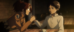 File:Hange is excited at Eren's interest in her work (Cropped).png