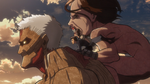 Armored Titan and company escaping.png