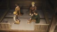 Eren looks for help