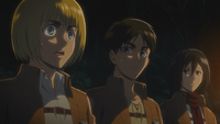 Armin realises that Eren could seal up Wall Maria