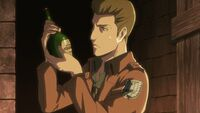 Gelgar and the bottle in Utgard Castle