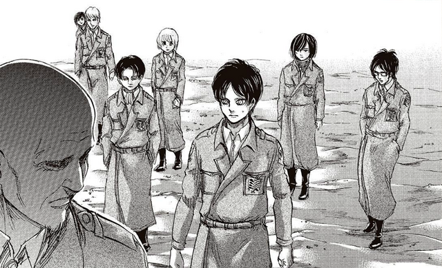 File:Eren meets with Keith Shadis.png
