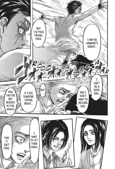 Historia comforts Eren