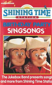 Birthday Party Singsongs Front Cover