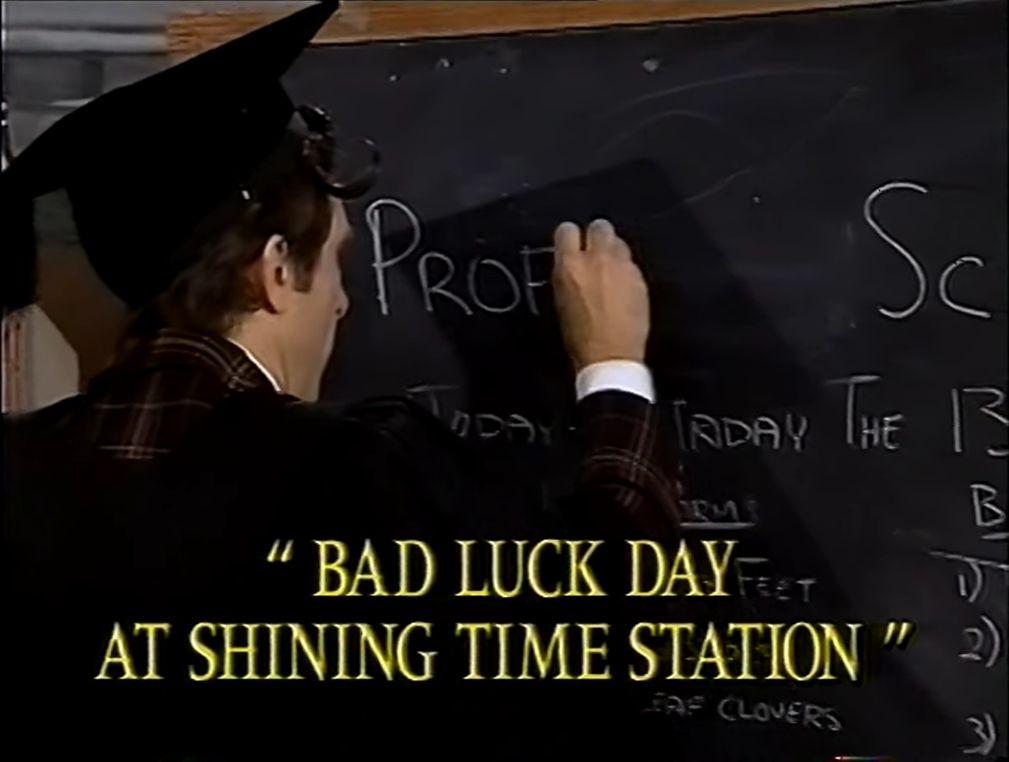 One Day At A Time Wikipedia: Video - Bad Luck Day At Shining Time Station