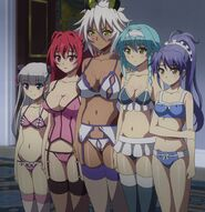 Shinmai Maou no Testament BURST Girls