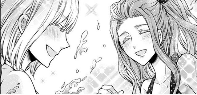 File:Chouko and Kurumi playing in the beach.png