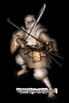 Sadame samurai boss