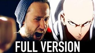 One Punch Man FULL ENGLISH OPENING (The Hero - Jam Project) Cover by Jonathan Young