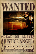 Justice's Wanted Poster