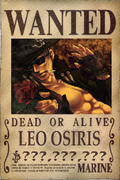 Leo's Wanted Poster