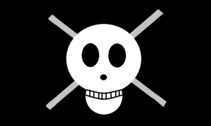 Steel Rod Pirates Jolly Roger