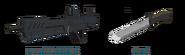Assault Rifle-Knife