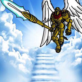 Angel Cherub - Gold