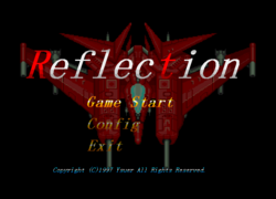 Reflection title screen