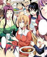 Polar Star asks Erina to taste their dish