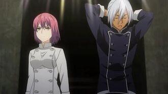 Shokugeki no Soma (Food Wars) - Hisako Arato vs Akira Hayama (round 1 Totsuki Autumn Election)