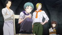 Alumni judge the unofficial Shokugeki (anime)