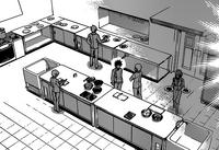 Kitchen of Shino's Tokyo