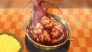 French Curry Lobster Rice with Cognac (anime)