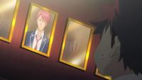 Kojirō's portait in the Chandra's Room
