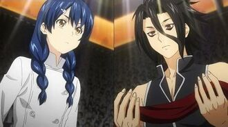 Shokugeki no Soma (Food Wars) - Megumi Tadokoro vs Ryo Kurokiba (round 1 Totsuki Autumn Election)